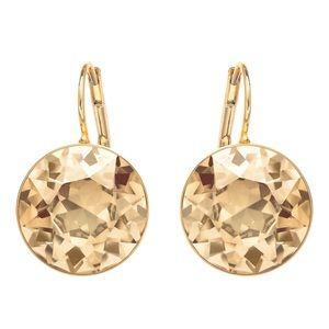 Swarovski Crystal Bella pierced earrings NIB